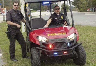 ATV benefits law enforcement
