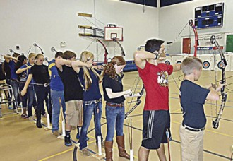Over 800 students vie for top marks with bows and arrows