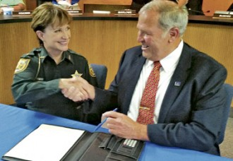 Newberry, Sheriff's Office reach Agreement for Services