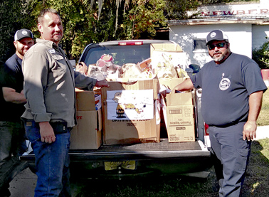W - spc to - Thanksgiving food drive